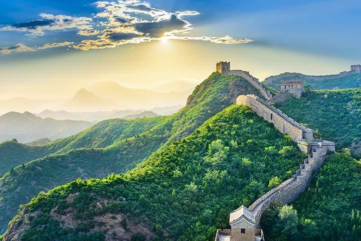 A grande muralha da China