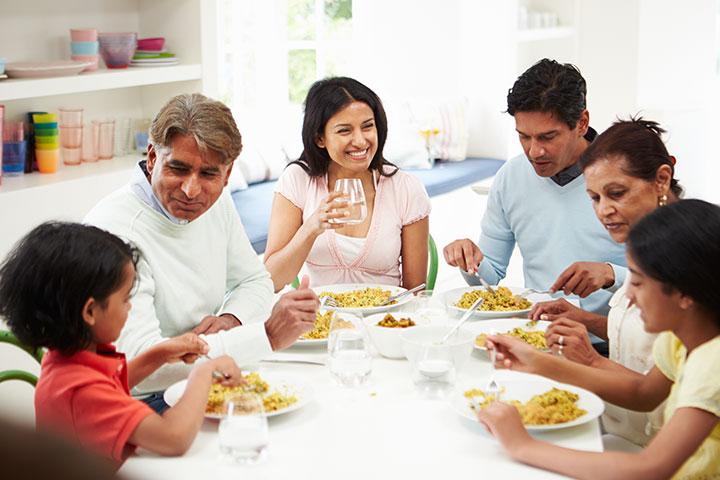 Instilar e seguir um cronograma de alimentação