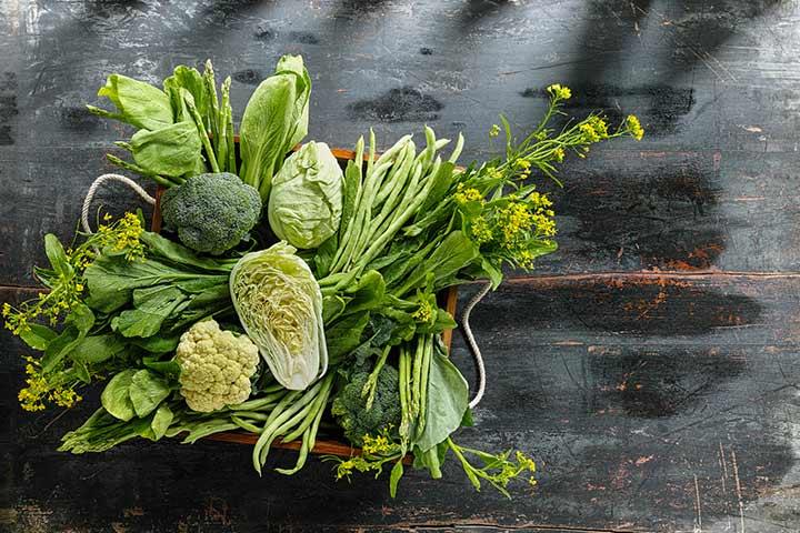 Vegetais folhosos