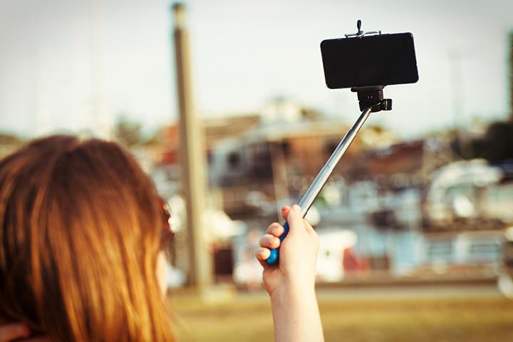 Bastão de selfie