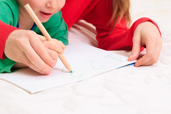Ajudando seu filho a escrever números