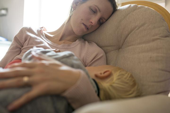 Vá para a cama quando seu bebê