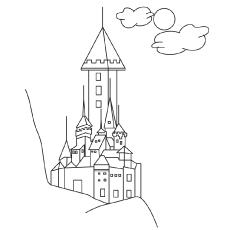 Desenhos para colorir Elsa