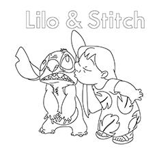 Imagens de Lilo para colorir