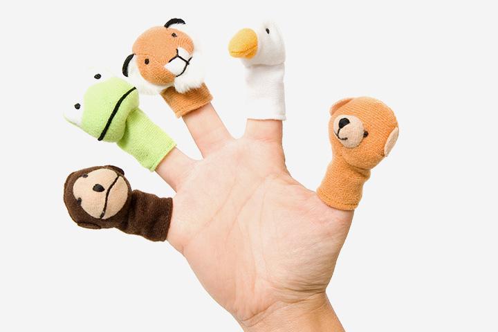 Bonecos de dedo até 70%