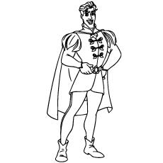Desenhos de Prince Naveen para colorir