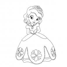 Imagem pequena da princesa Tiana