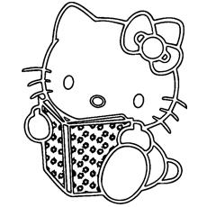 Desenhos de Hello Kitty para colorir