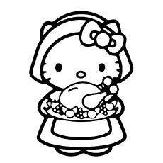 Imagens de Hello Kitty com corante alimentar
