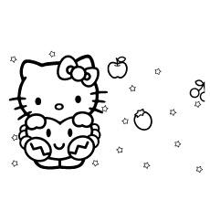 Desenhos de Hello Kitty em sonhos