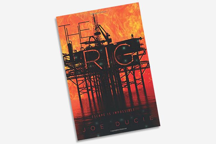 Livros de aventura para adolescentes - The Rig