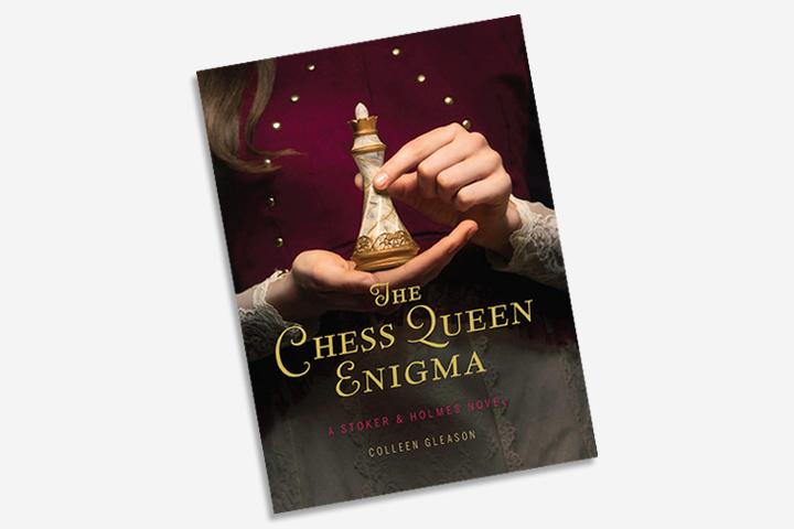 Livros de Aventura para Adolescentes - O Enigma da Rainha do Xadrez Um romance de Stoker e Holmes