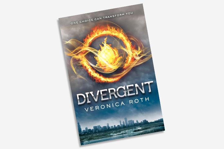 Livros de aventura para adolescentes - divergente