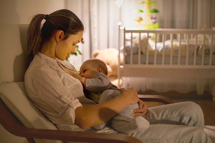 Amamentação para o intestino saudável do seu bebê