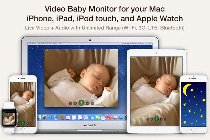 Cloud Baby Monitor - Aplicativos de desenvolvimento de bebês