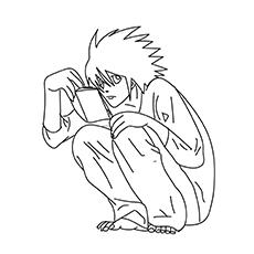 Desenhos para colorir-Yagami-claro-16