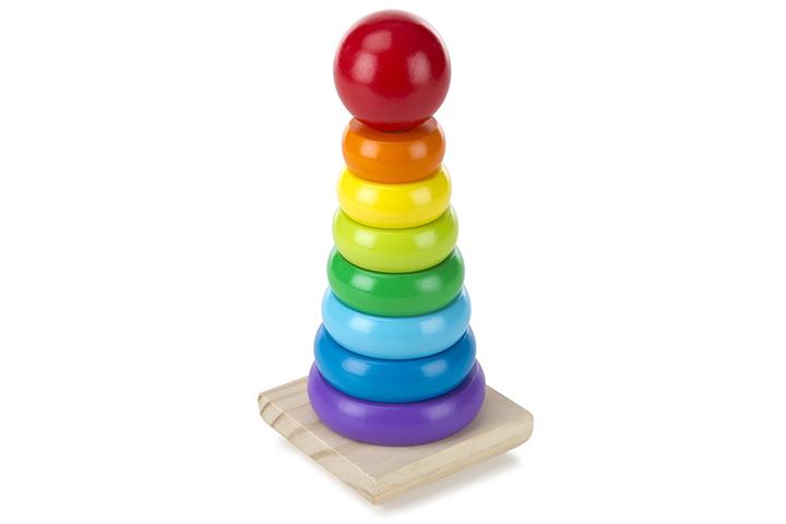 Melissa Doug Rainbow Stacker