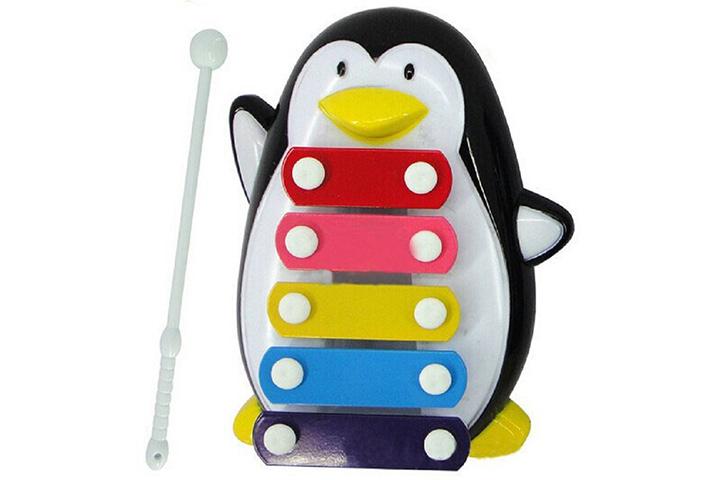 Mercadorias interessantesCene Discovery Penguin Xilofone de 5 notas