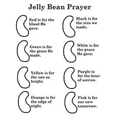 A oração do feijão de gelatina