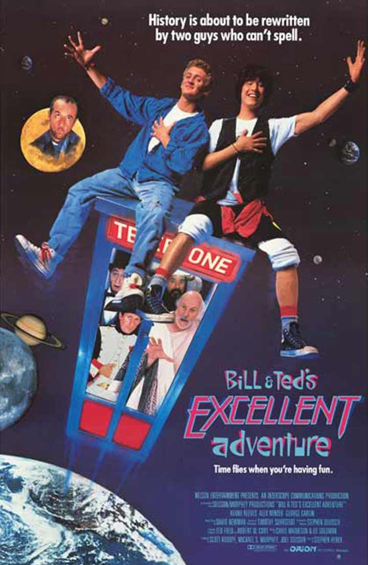 A excelente aventura de Bill e Ted