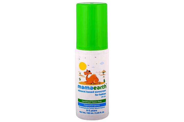 Protetor solar para bebê