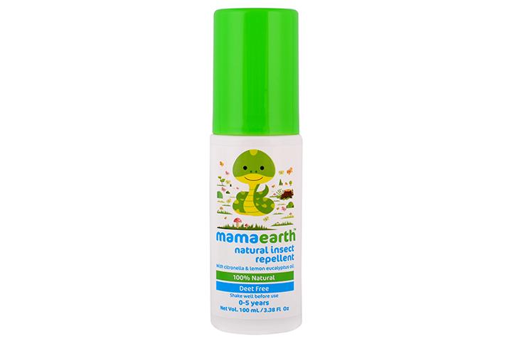 Repelente de mosquitos em spray natural