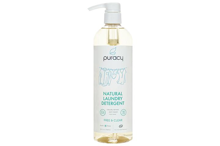 Detergente para a roupa líquido natural da pureza