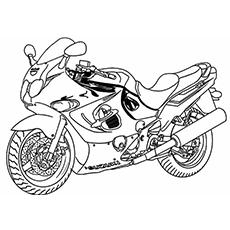 Superbike Coloring