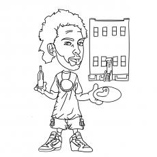 Grafite de hip hop