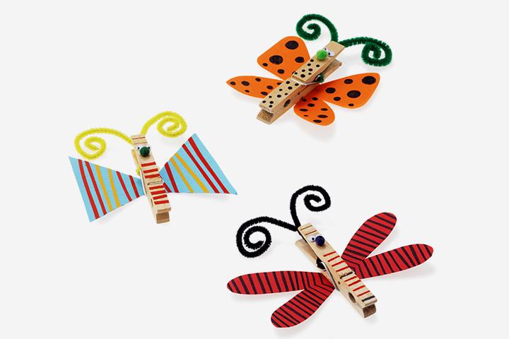 Clipes de borboleta