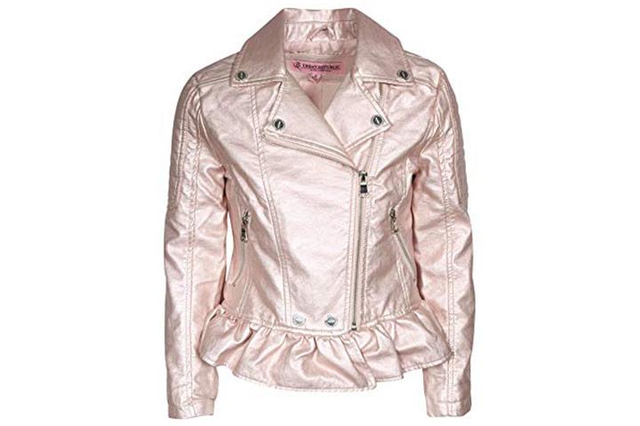 Urban Republic jaqueta de couro sintético