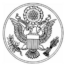 Desenhos de Grande Selo dos EUA para colorir