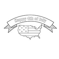 Feliz 4 de julho dia da independência para colorir planilhas