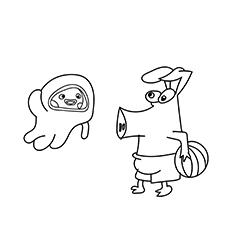 O-porco-bonito-com-bola-de-praia-16