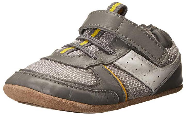 Robeez Maverick Mini Shoez, Cinza - Sola atualizada