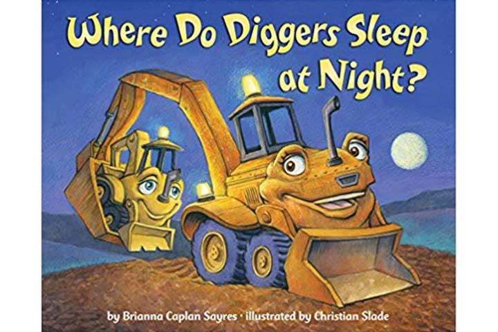 Onde os escavadores dormem à noite?