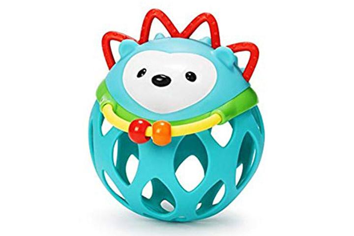 Skip Hop Explore e mais brinquedos de chocalho Roll Hedgehog