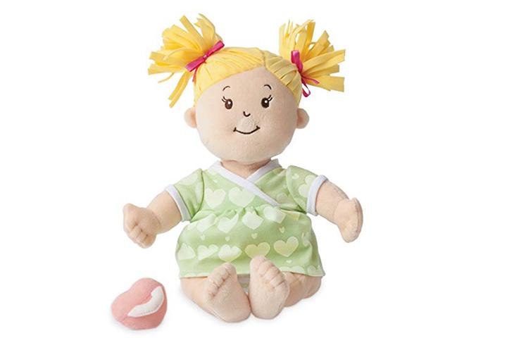 Manhattan Toy Baby Stella Loira Suave Primeira Boneca