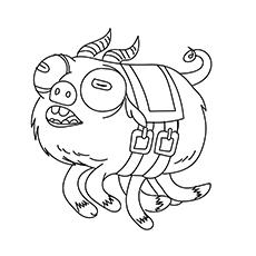 O Archie O Porco Assustador