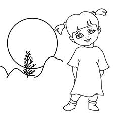 Imagens para colorir Boo