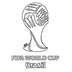 Desenhos para colorir Copa do Mundo da FIFA