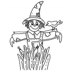 Desenhos de Espantalho para colorir O Mágico de Oz