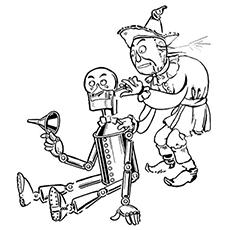 Desenho de Tinman para colorir