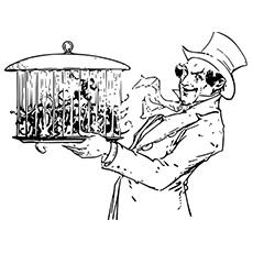 Desenho de Mágico de Oz para crianças
