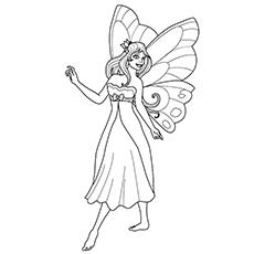 Princesa fada imagens para colorir