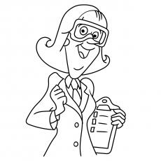 O professor de laboratório