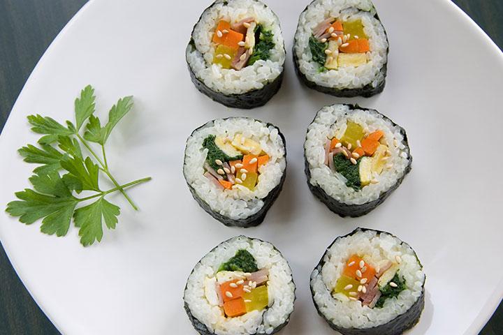 Kimbop (sushi coreano)