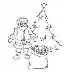 Árvore de Natal e presentes