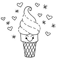 O redemoinho de sorvete
