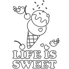 Sorvete torna a vida doce
